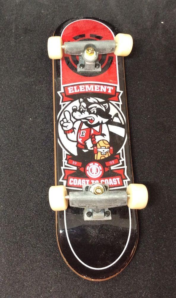Tech Deck Element Coast To Coast Skateboard Fingerboard 3 1 2 Ebay Tech Deck Skateboard Deck