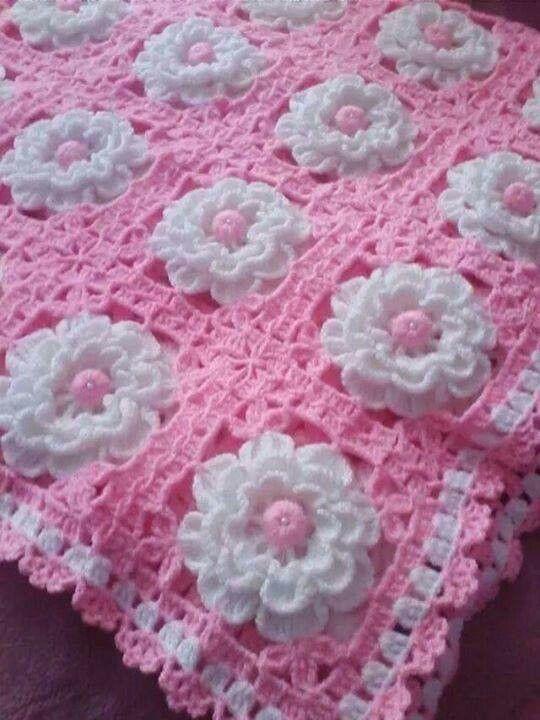 Pin de Ceica en Crochê | Pinterest | Manta