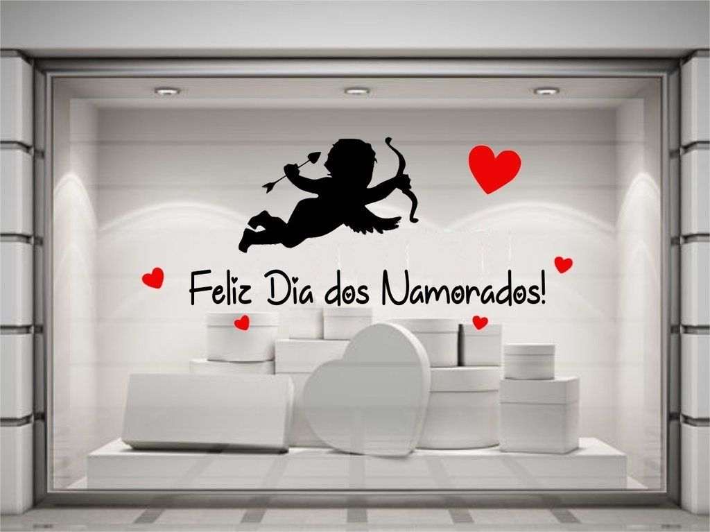 Vitrine Dia dos Namorados com muito amor e atrativo! Vem em mim cupido.... #vitrine #vitrines #loja #lojista #decor #decoração #decoracao #vender #namorados #diadosnamorados #felizdiadosnamorados #love #amor