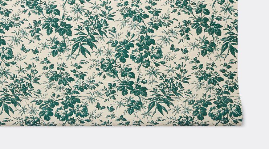 'Herbarium' wallpaper, green Alessandro Michele