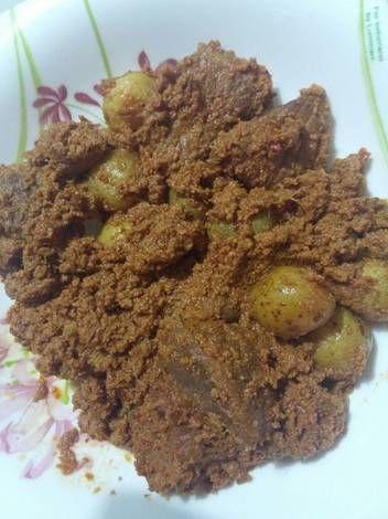 Resep Rendang Khas Padang Ala Ibu Mertua Oleh Fakhrina Resep Resep Masakan Malaysia Resep Ide Makanan