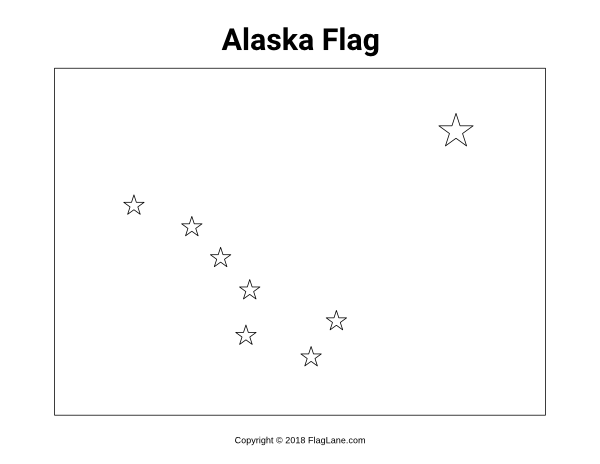 Free Printable Alaska Flag Coloring Page Download It From Https Flaglane Com Coloring Page Alaska Flag Flag Coloring Pages Alaska Flag Coloring Pages