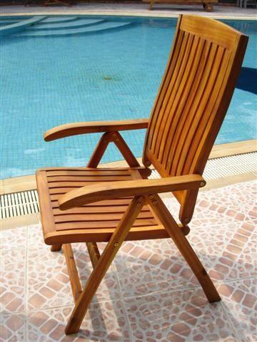 Sam Akazie Garten Hochlehner Stuhl Santana Gartenstuhle Stuhle