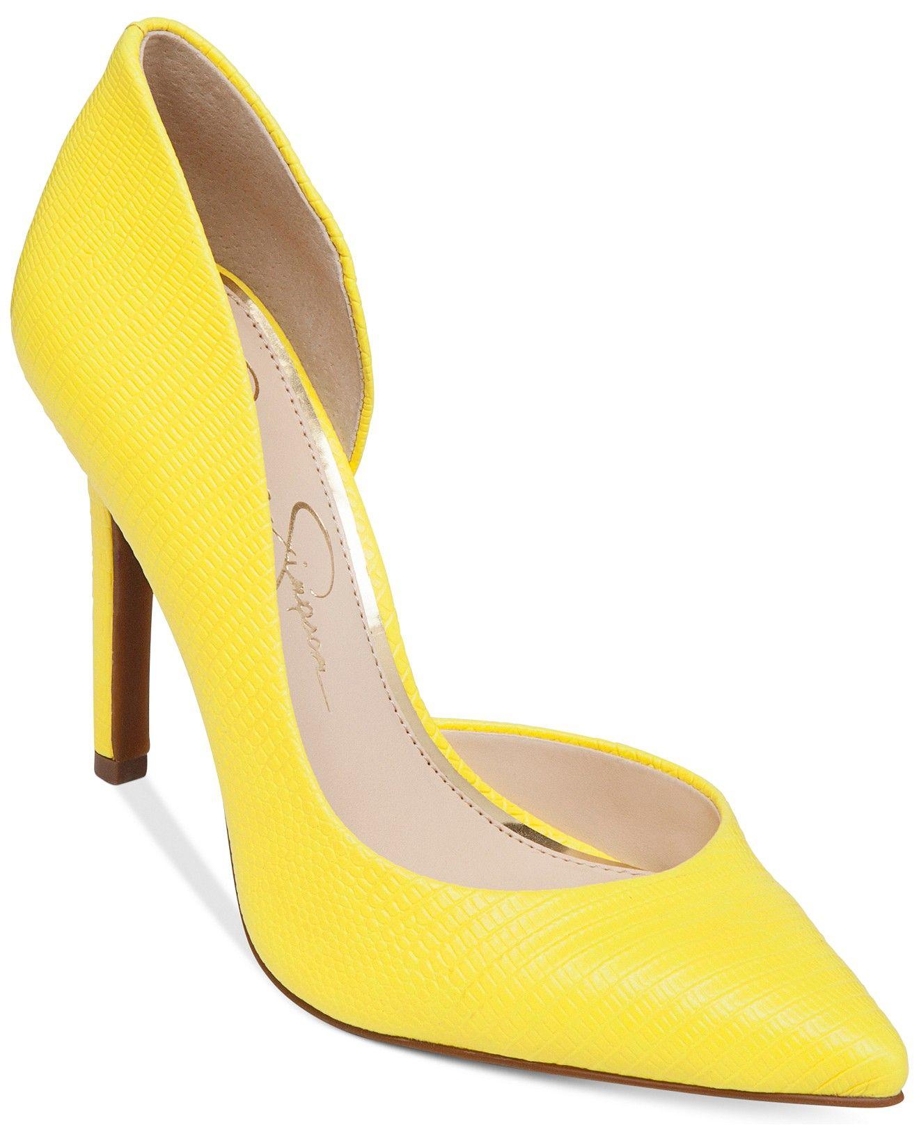dbadd16d5ba Jessica Simpson Claudette d Orsay Pumps - Pumps - Shoes - Macy s ...