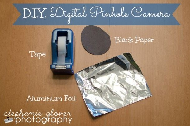 DIY Digital Pinhole Camera Cool