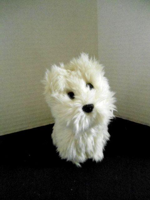 American Girl Doll Plush Pet Dog Coconut White West Highland