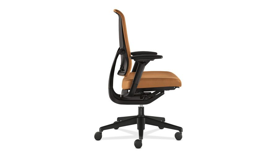 Relate Work Chair Side View Charblack With Adjustable Arms Work Chair Chair Furniture