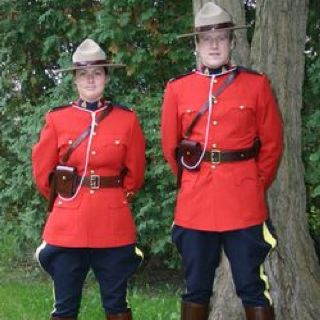 Royal Canadian Mounted Police - Welcome Greeter (retired)