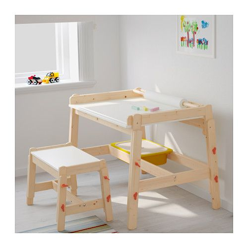 Kinderschreibtisch ikea  FLISAT Kinderschreibtisch, verstellbar | Desks, Playrooms and Room