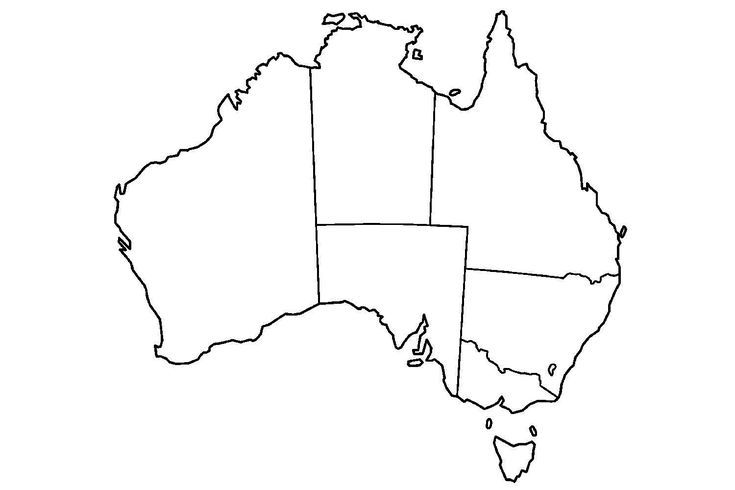 can you fill in blank maps of the world the map of australia