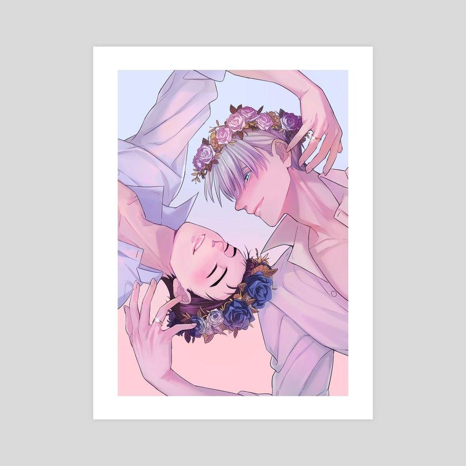 Victuuri Flower Crown by Angela Olivia