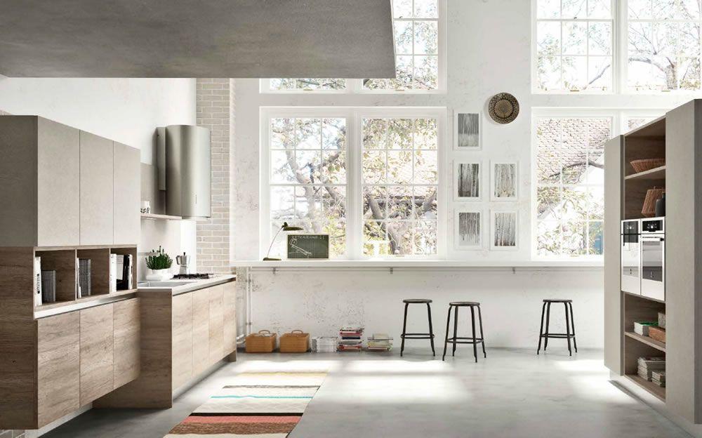 Cucine Vintage Moderne.Atra Cucine Produzione Di Cucine Moderne Vintage