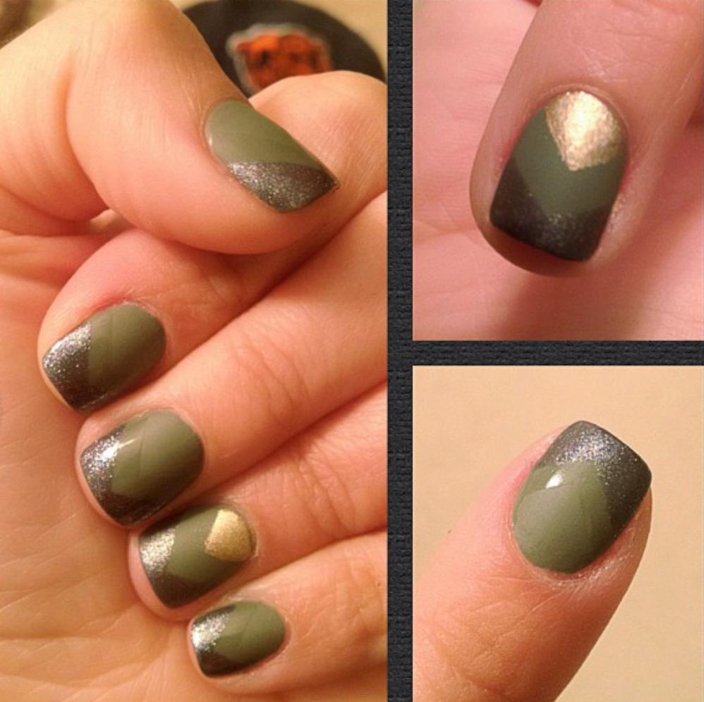 army nails - Army Nails Nails Pinterest Army Nails, Nail Stuff And Makeup