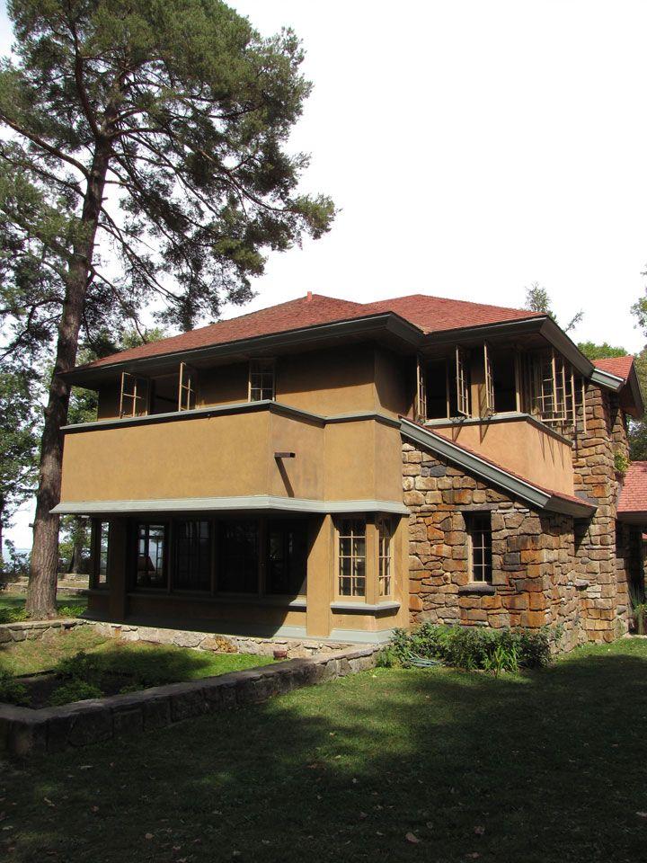 Graycliff, Lake Erie, Derby NY   Frank Lloyd Wright