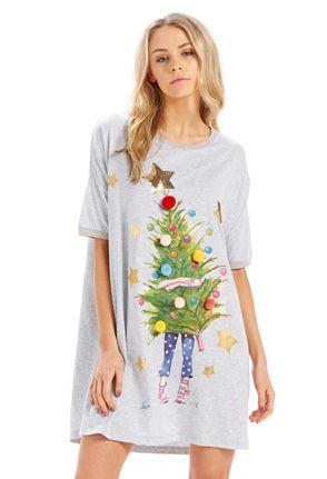 Christmas Tree Sleep Tee