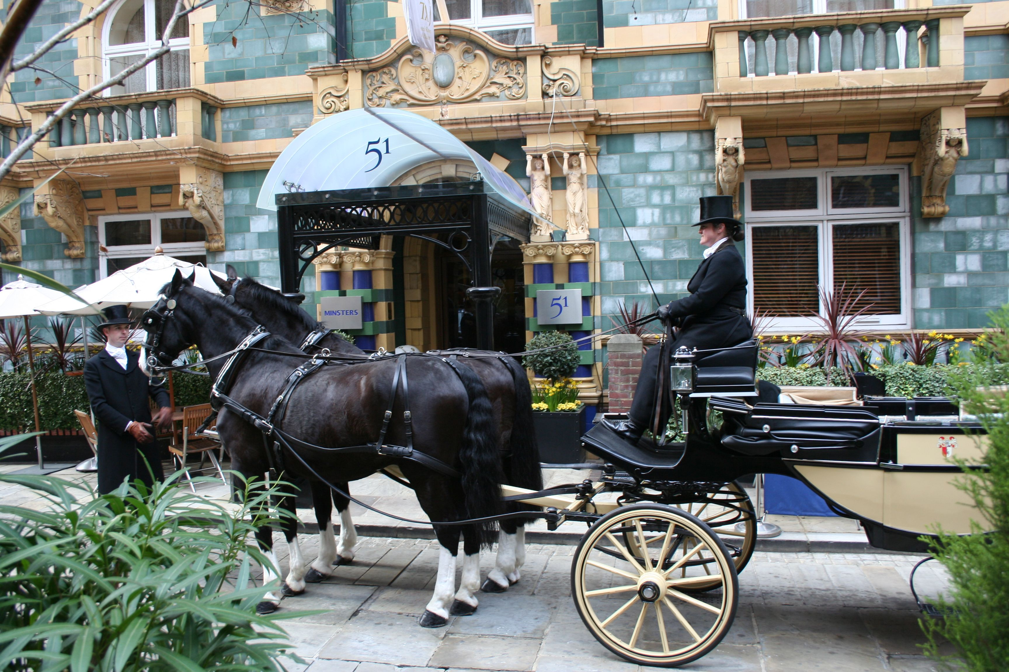 Horse & Carriage sustainable transportation that allows for real