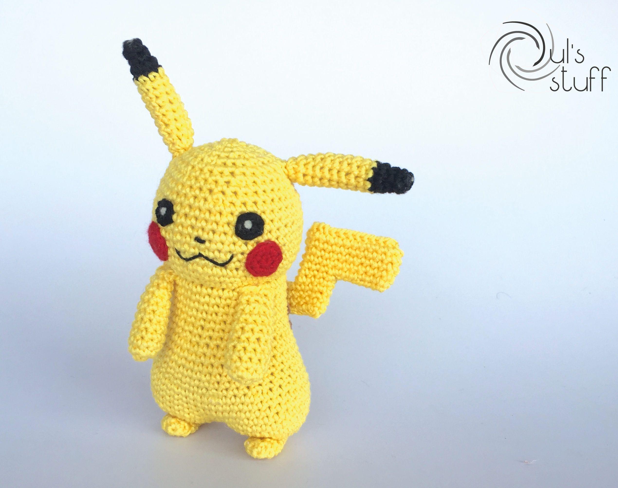 LORAINE AMIGURUMIS - Paso a paso para tejer al crochet a Pikachu | 2008x2539