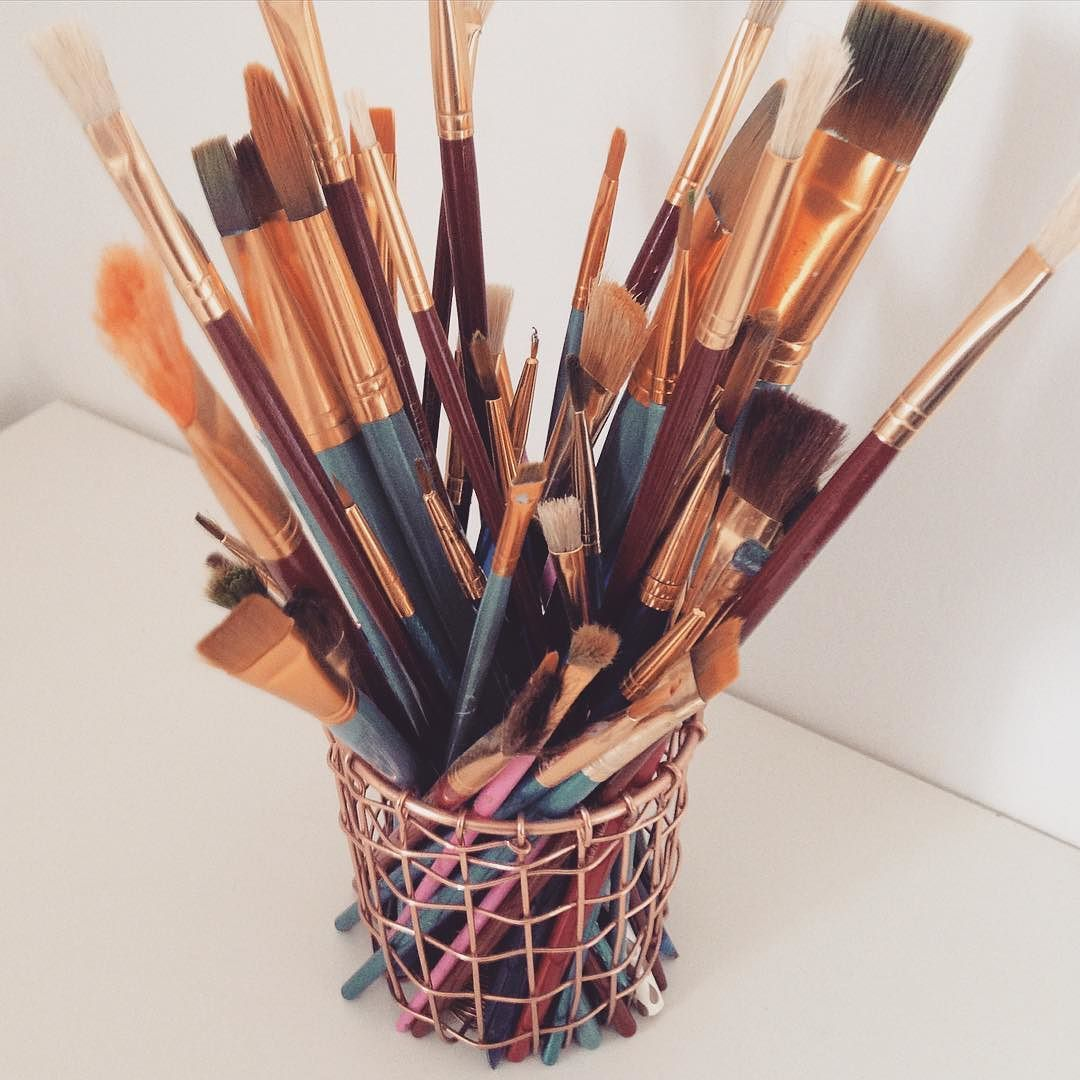 Paintbrush Hoarder Paint Paintbrushes Art Artist Aesthetic By Gemma Jouques