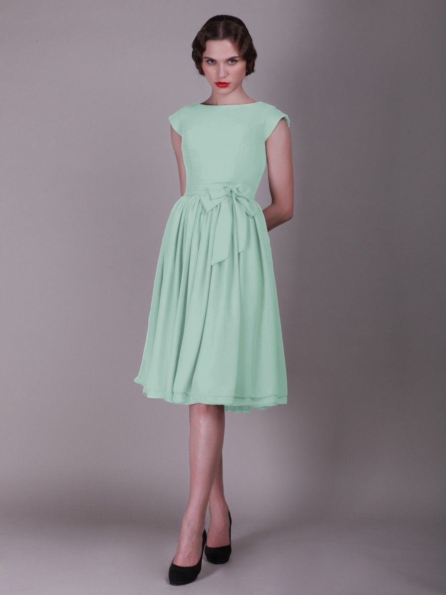 15500 httphederadressescap sleeved cap sleeved vintage bridesmaid dress with faux buttons ombrellifo Gallery