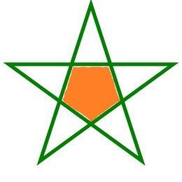 Cómo Dibujar Una Estrella De 5 Puntas Sin Compás Paso A Paso Dibujos De Estrellas Estrella Cinco Puntas Moldes De Estrellas