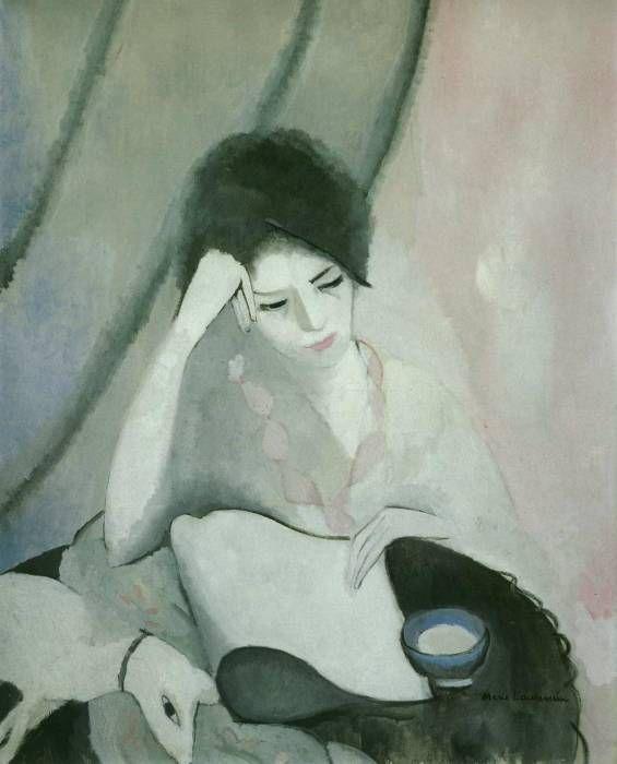 Artemisdreaming La Liseuse The Reader 1913 Marie Laurencin