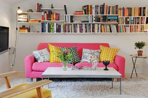 design : wohnzimmer weiß pink ~ inspirierende bilder von ...