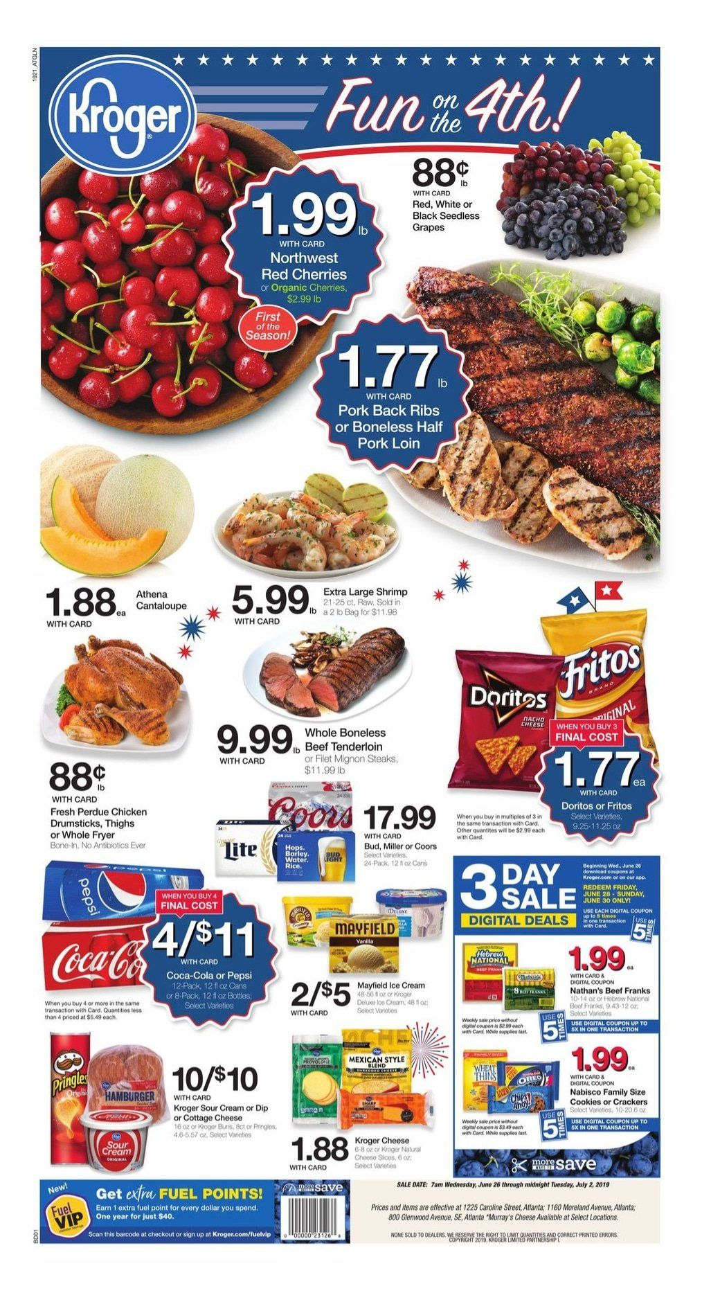 Best 4th Of July Sale 2020 Grab Deals On Clothing Home Decor Gears Much More Kroger Grocery Ads Weekly Ads