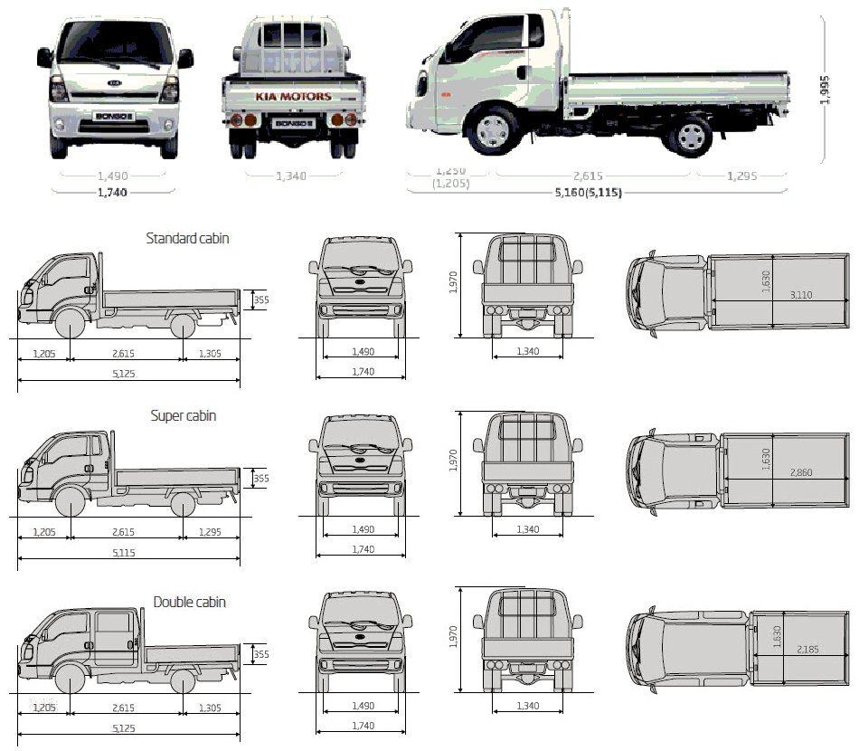 medium resolution of kia k2500 4x4 double cab google camper van conversions