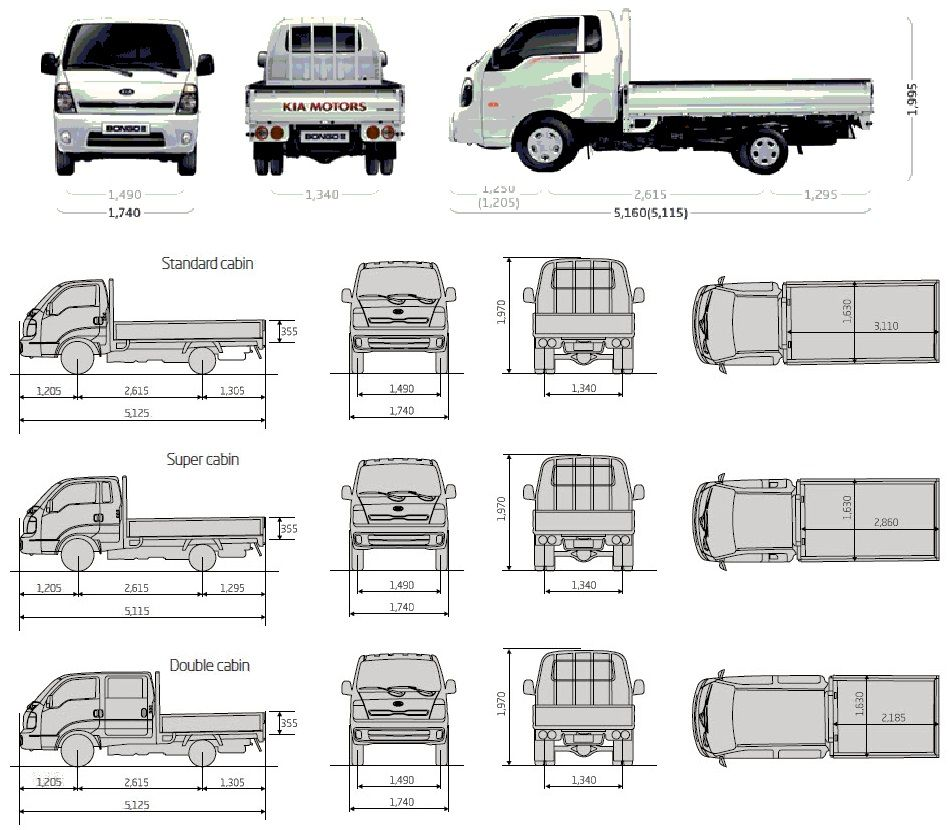small resolution of kia k2500 4x4 double cab google camper van conversions