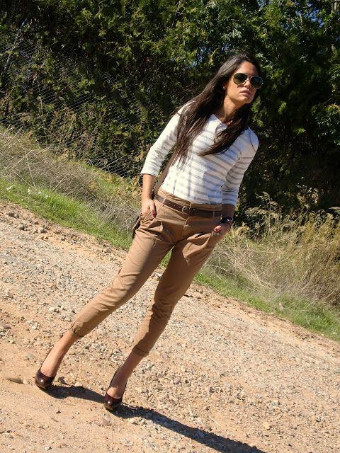 Susan´s Style: Pantalón Camel
