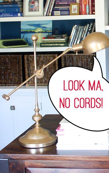 Cordless Lamp Look Ma No Cords
