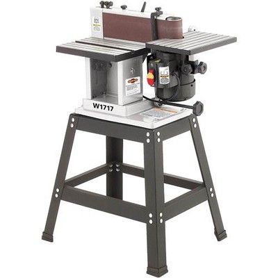 Shop fox w1717 13 hp horizontalvertical sander with quick change shop fox w1717 13 hp horizontalvertical sander with quick change belt table saw miter gaugecabinetbeltwoodstockfoxesporter cableportable table1blade greentooth Image collections