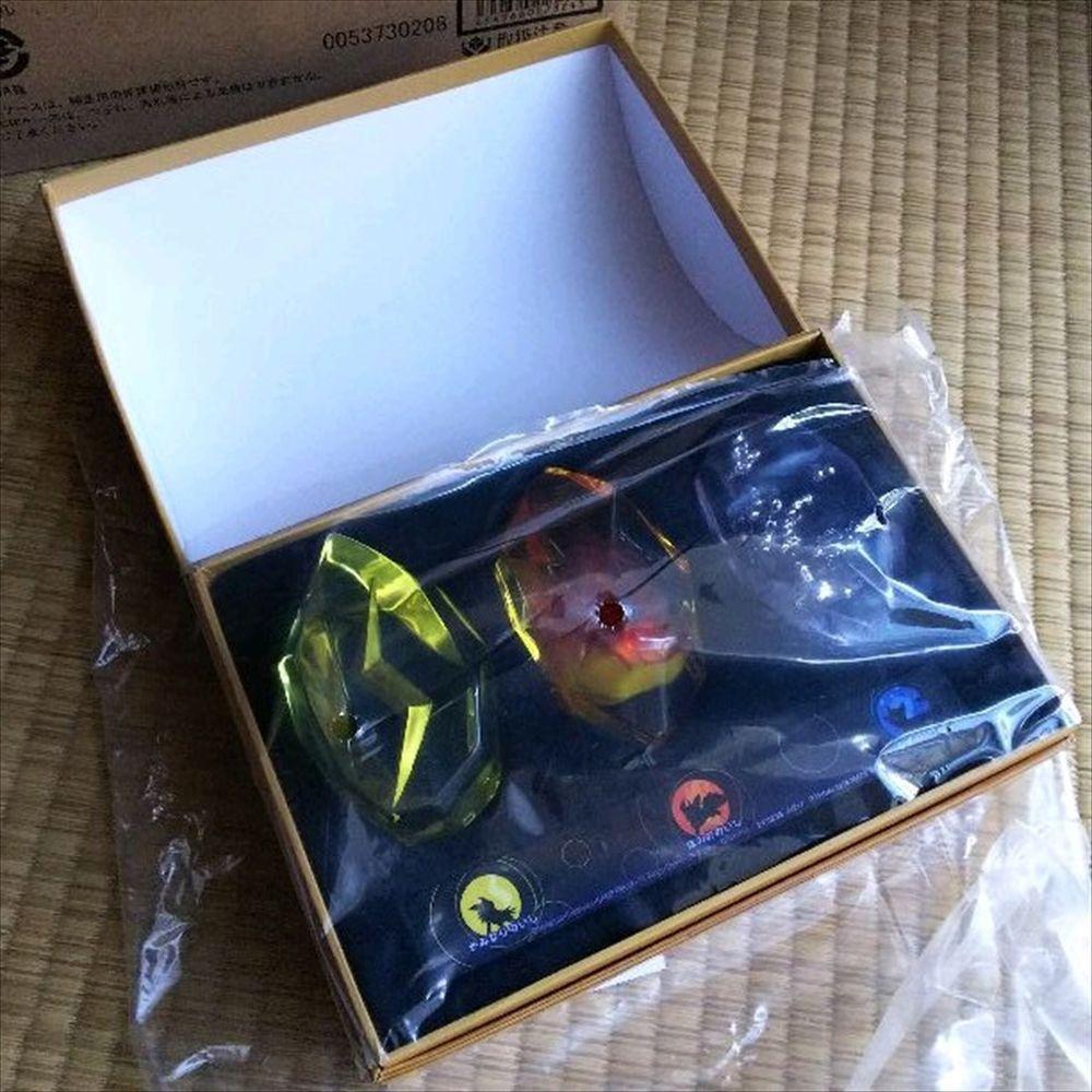 Pokemon Evolution Stone Candy Box Set Fire Premium Bandai No Candy Never Used Bandai