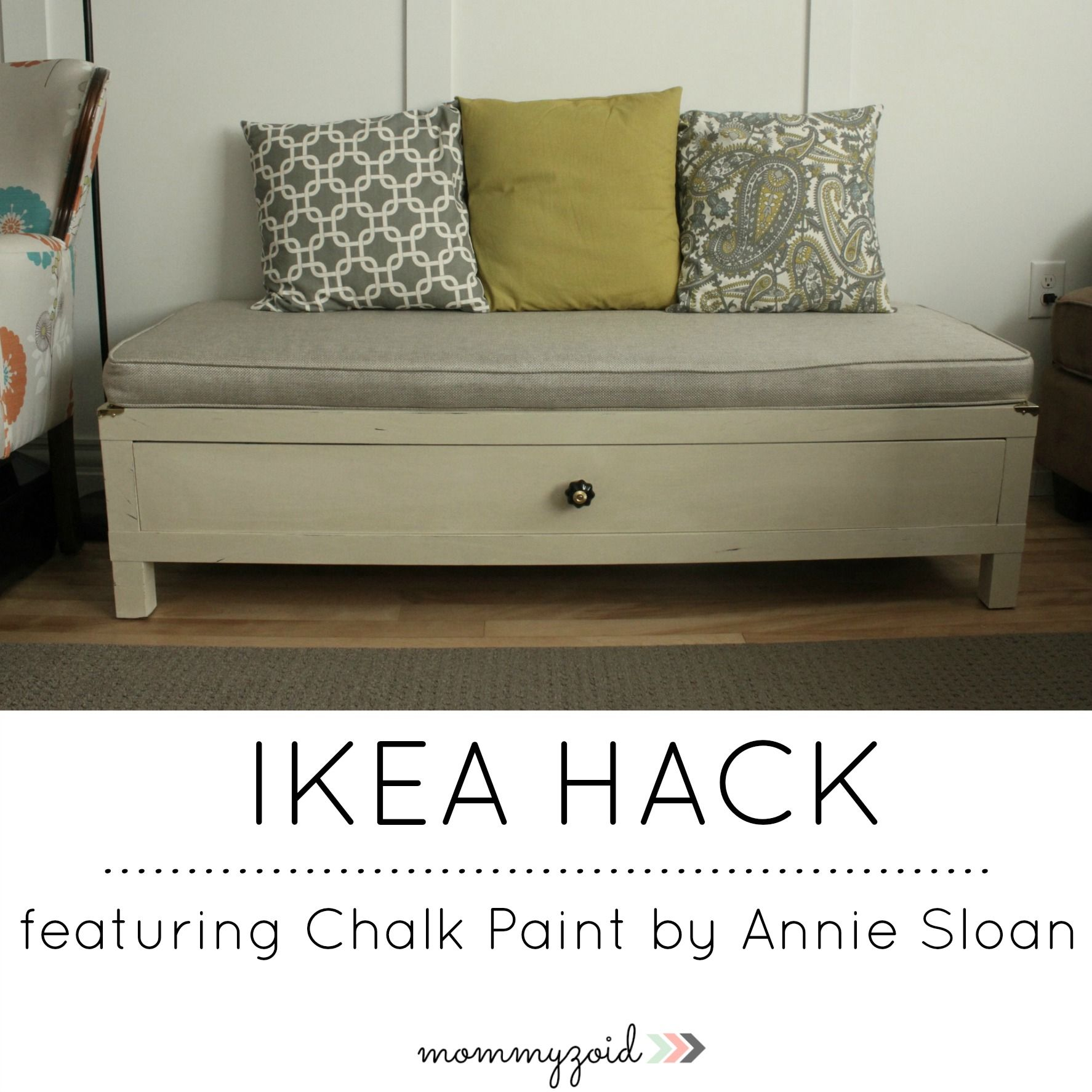 ikea hack featuring chalk paint by annie sloan ikea hack annie sloan and annie. Black Bedroom Furniture Sets. Home Design Ideas
