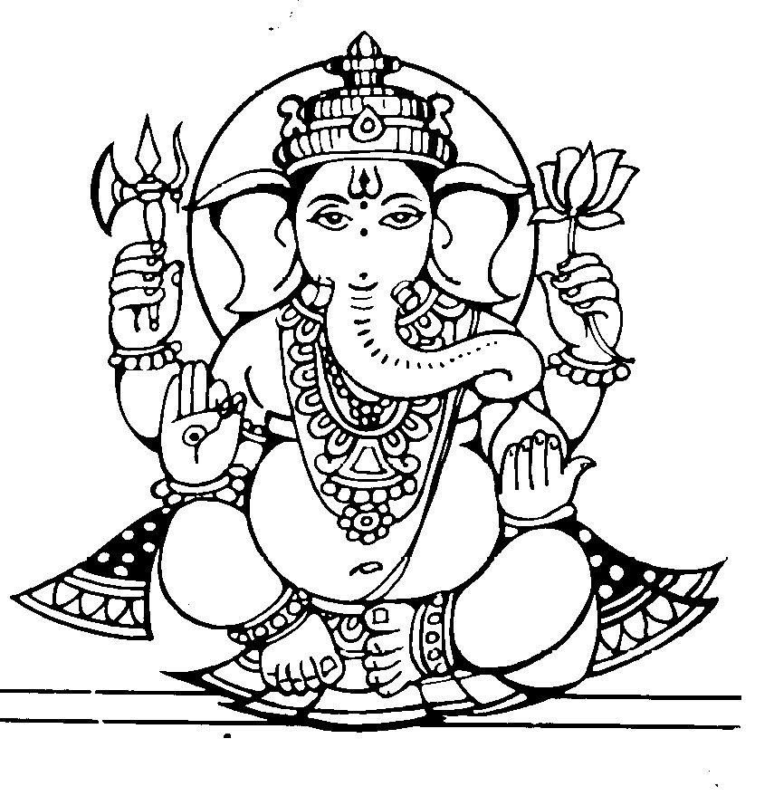 Ganesh Drawing