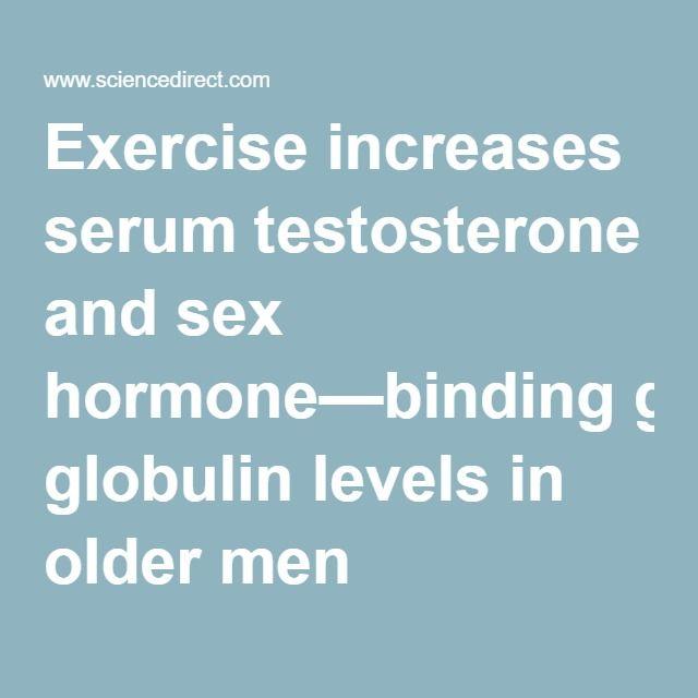 Sex Hormone Binding Globulin Levels