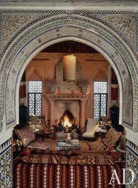 Eye For Design: Moroccan Interiors...... Bill Willis Style ...