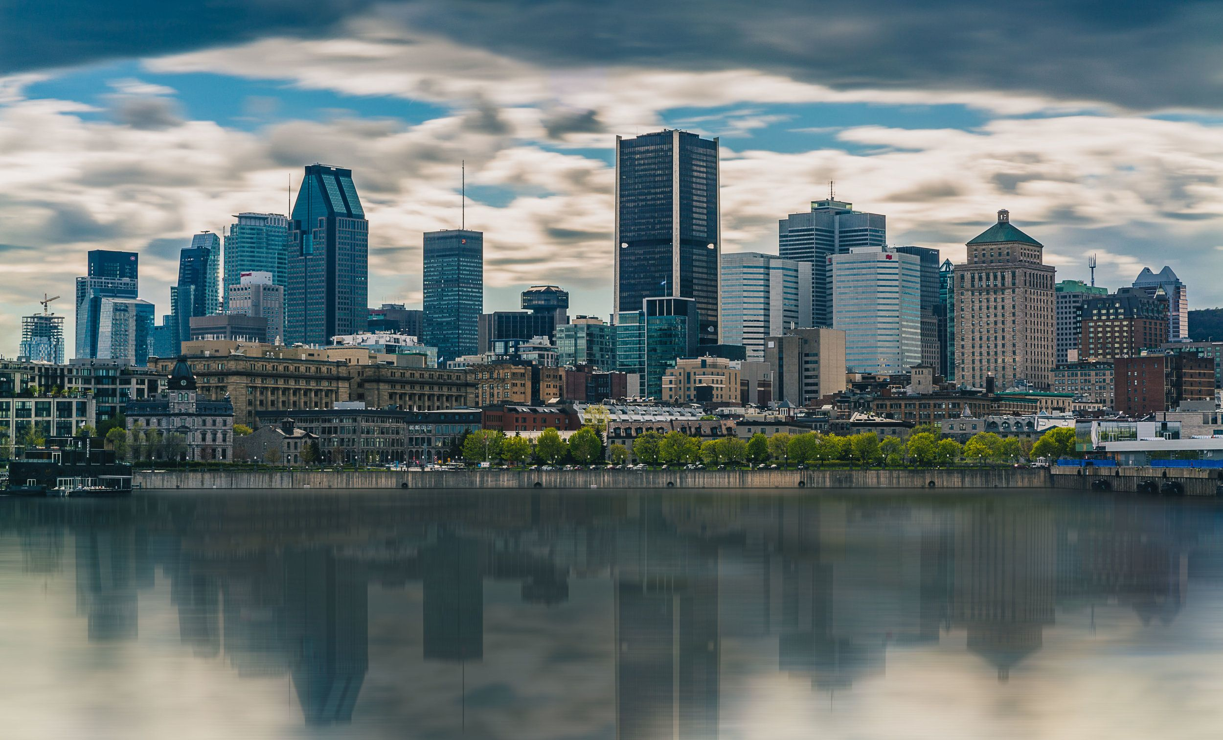 Summertime In Montreal Landscape Photography Landscape Landscape Photography New York Skyline