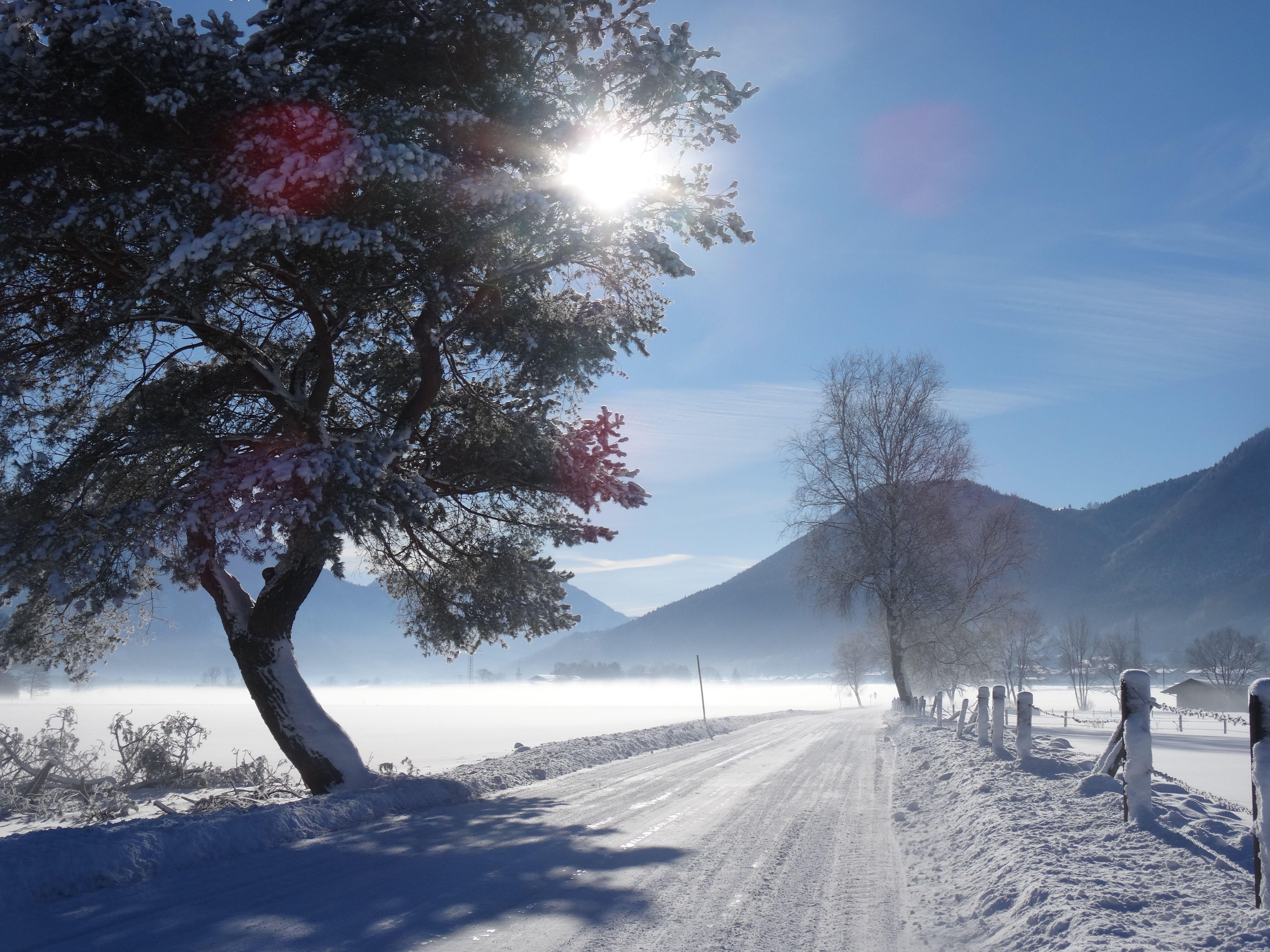 Wunderschöne Winterlandschaft. | Winter in Grassau und ...
