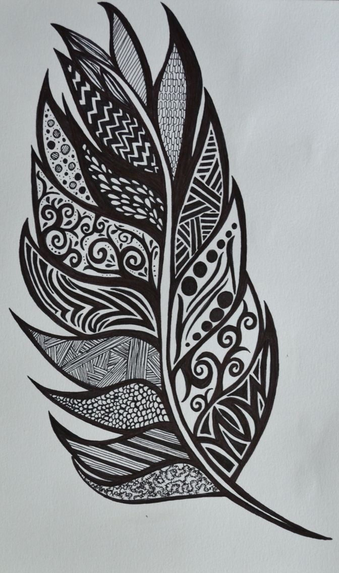 Feather drawing also dessin pinterest drawings and rh