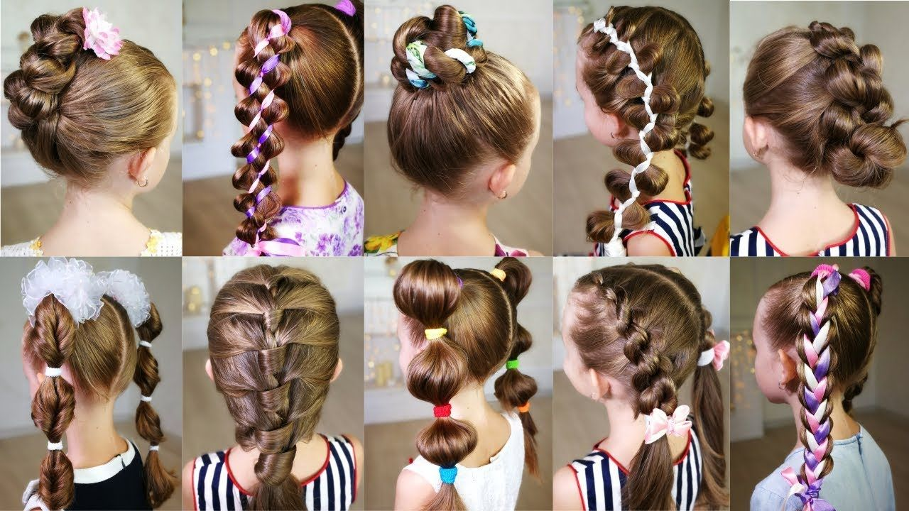 10 cute 3-minute hairstyles for busy morning! quick and easy
