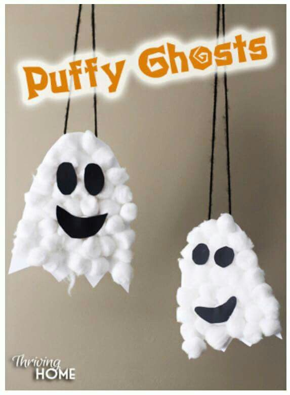 Good idea for the kid Halloween streghe mostri Pinterest Craft - simple halloween decorations to make