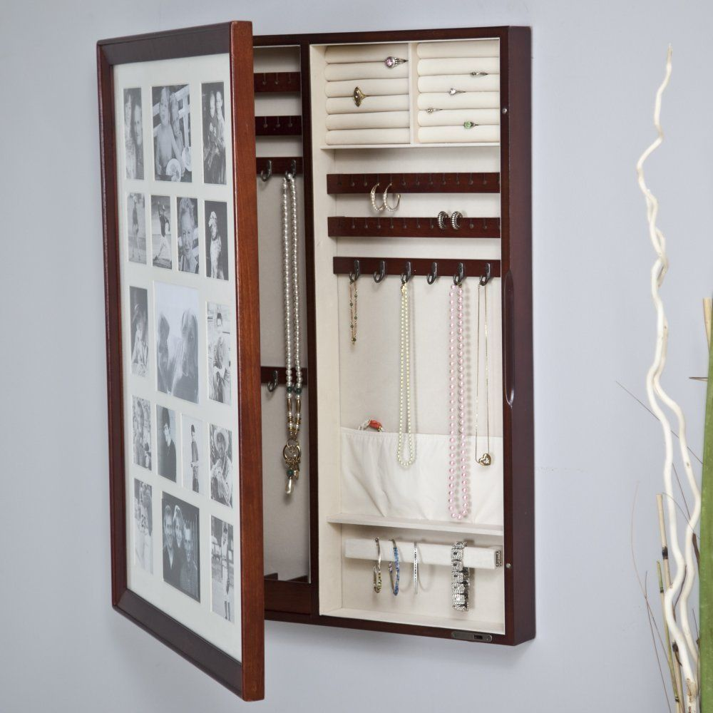 Collage Photo Frame Jewelry Box Looks Like A Photo Frame But