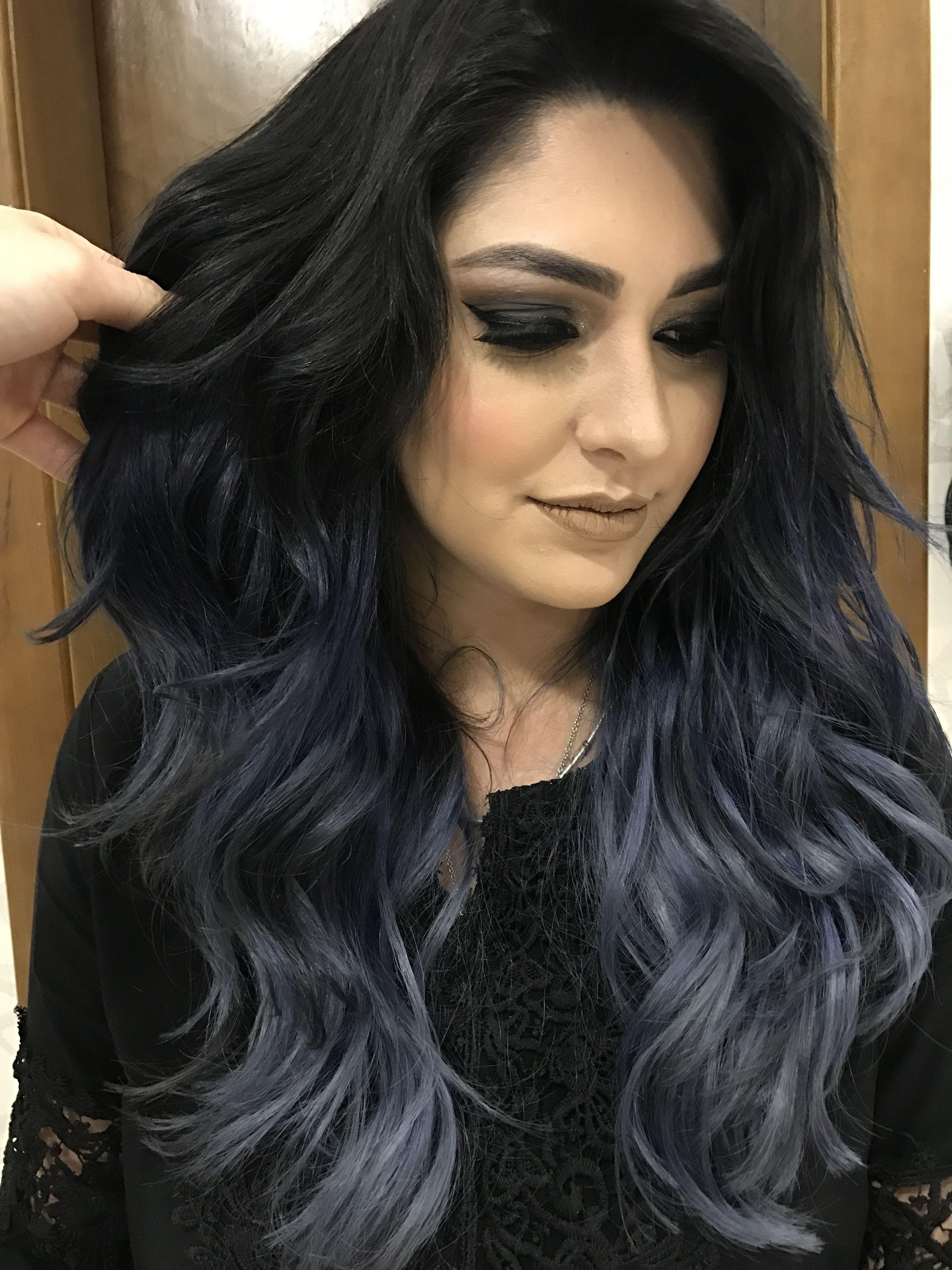 Charcoal Hair • Tendência para um visual estiloso. Aposte ...