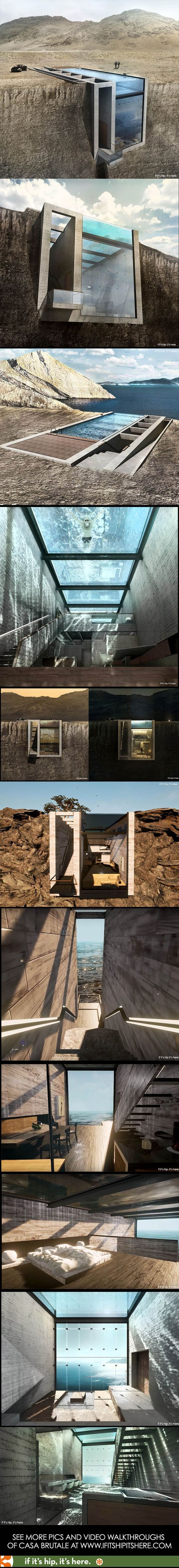 If Casa Brutale by OPA Is The Home Of The Future, Bring It On. [25 Pics] - if it's hip, it's here