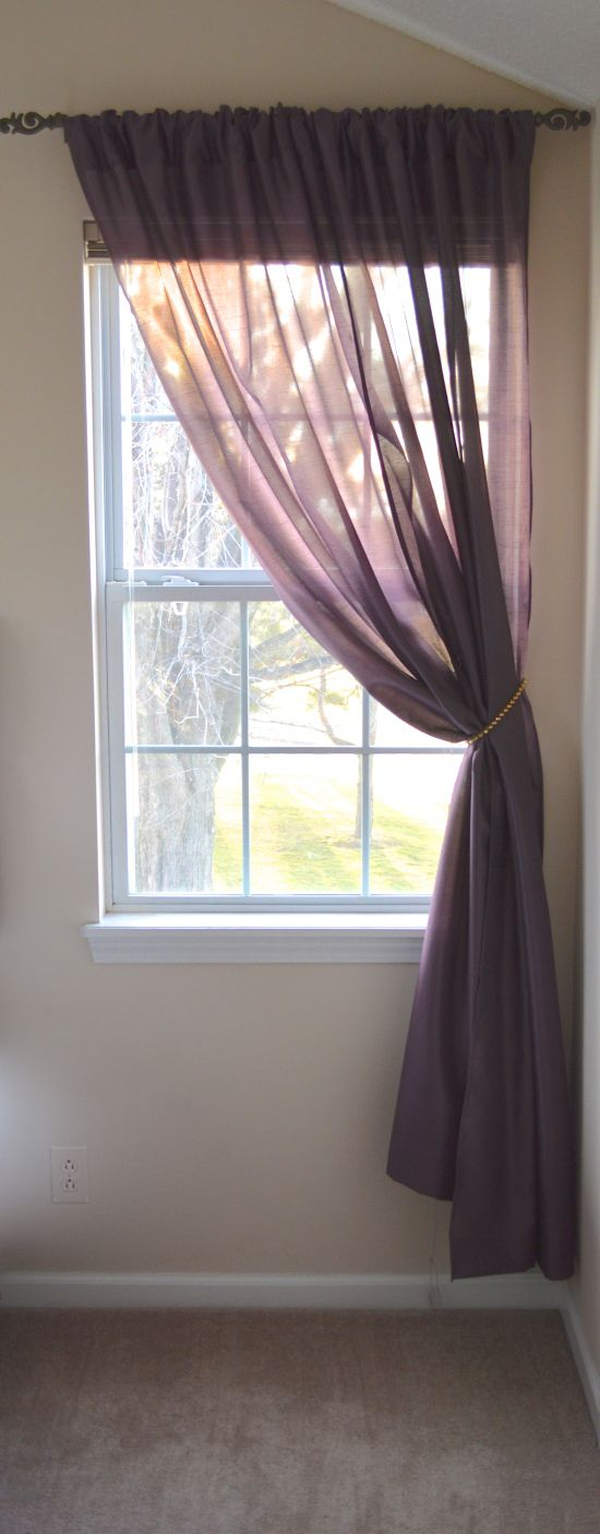 Our Master Bedroom Curtains Living Room Home Curtains Trendy Living Rooms