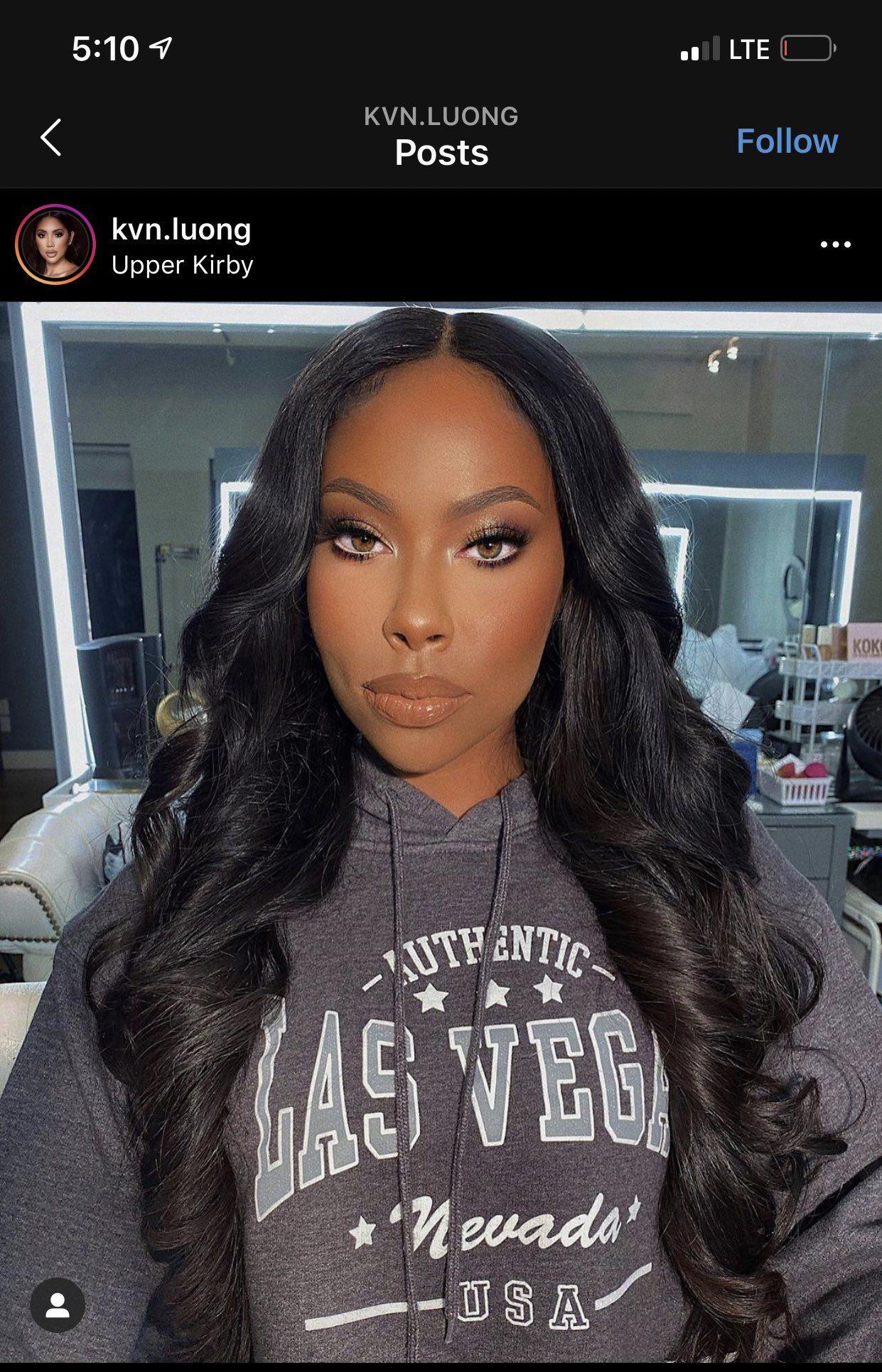 𝑞𝑢𝑒𝑒𝑛 𝑚𝑒𝑎𝑛 on Twitter Soft glam makeup, Black girl