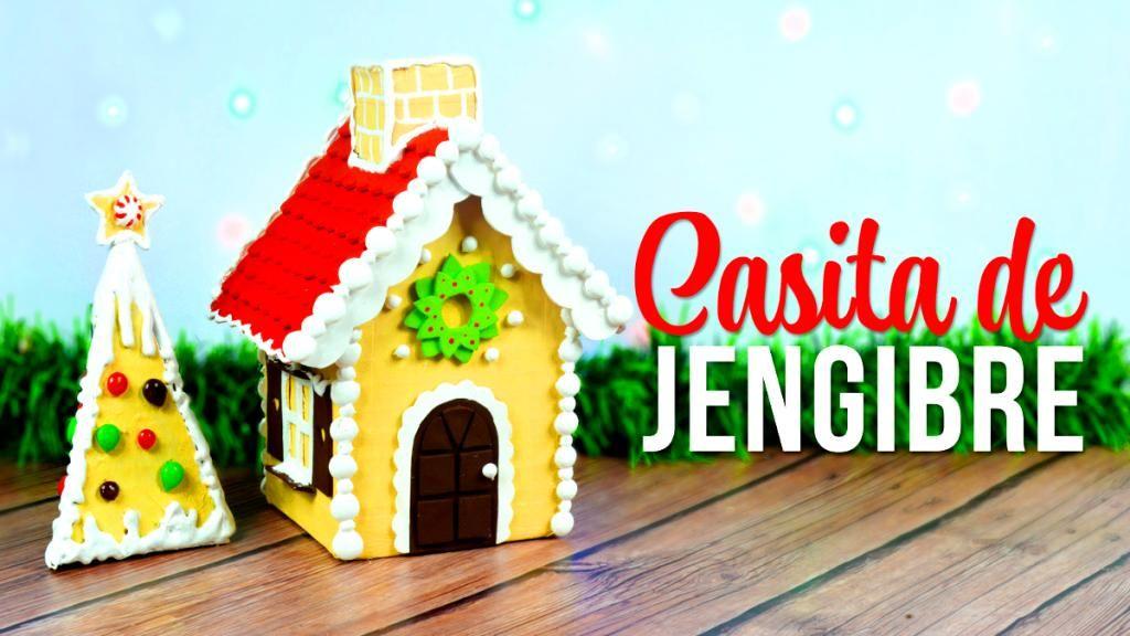 Decora la Navidad, Casita de Jengibre hecha con Cartón | Manualidades