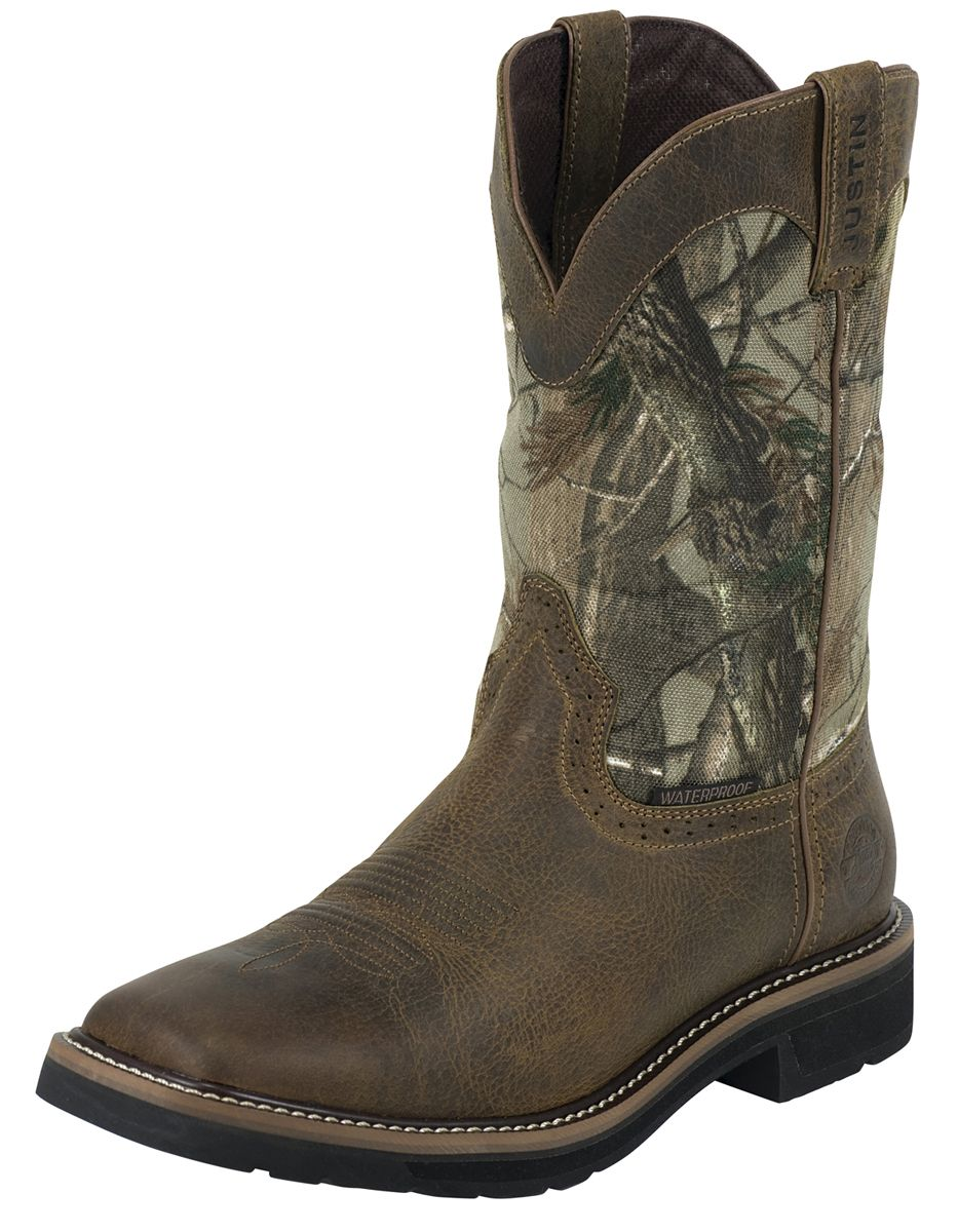 fbd5b470887 Mens Waterproof Stampede Square Toe 11