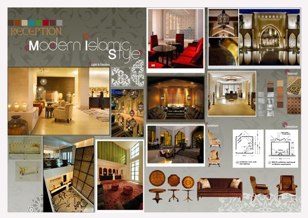 Perfect Interior Design Concept Board With Boards And Diagrams